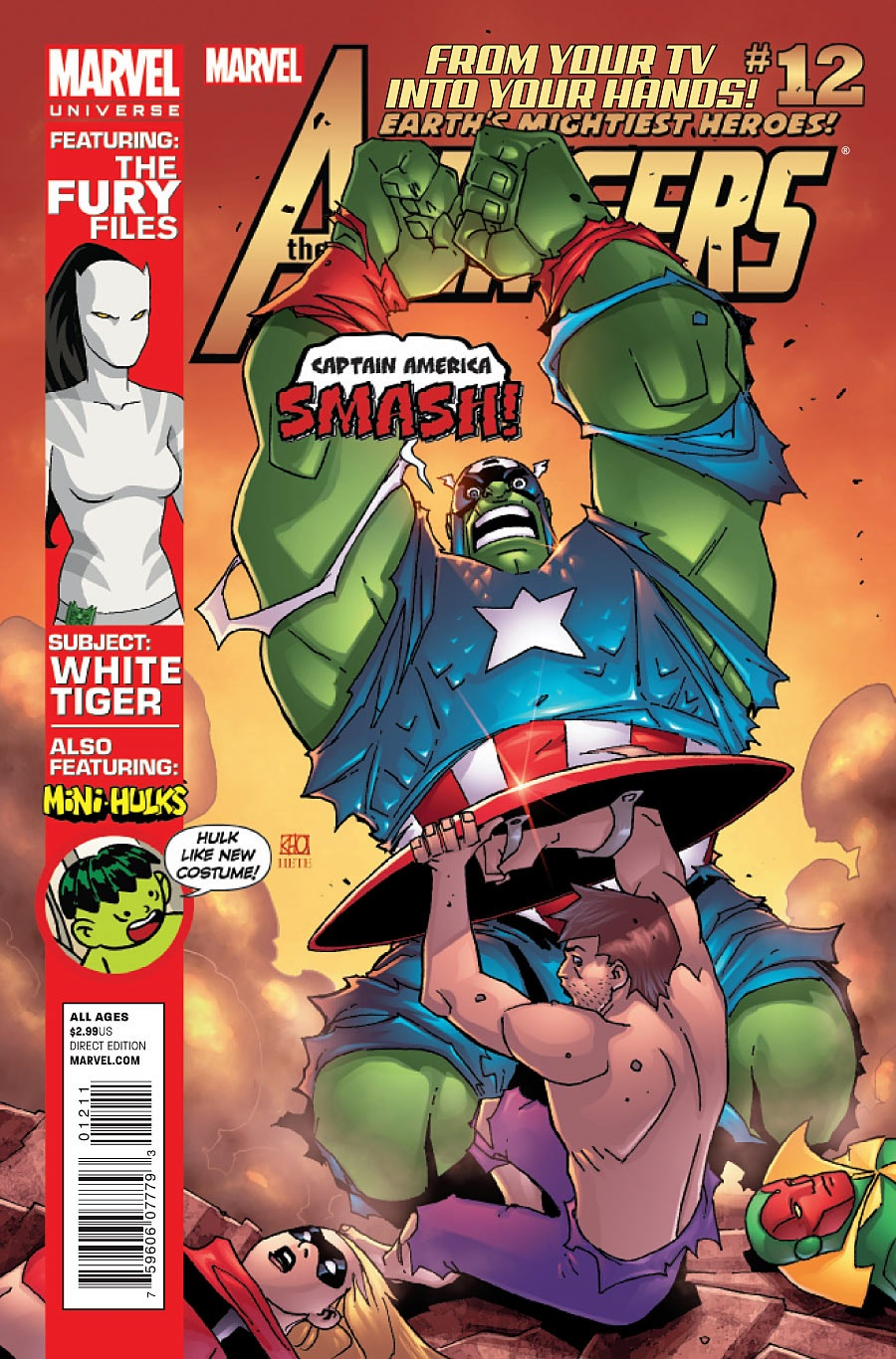 Marvel Universe: Avengers - Earth's Mightiest Heroes Vol 1 12