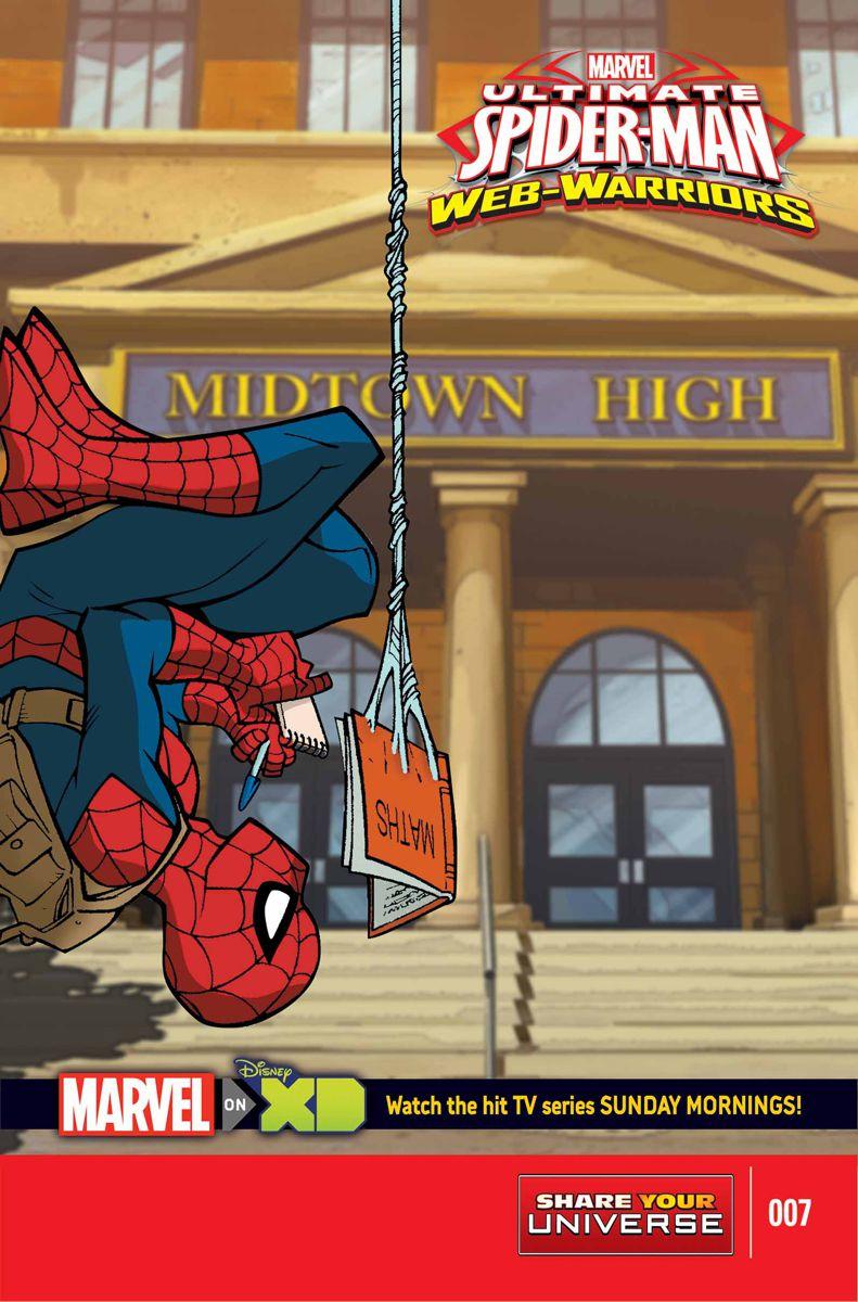 Marvel Universe Ultimate Spider-Man: Web Warriors Vol 1 7