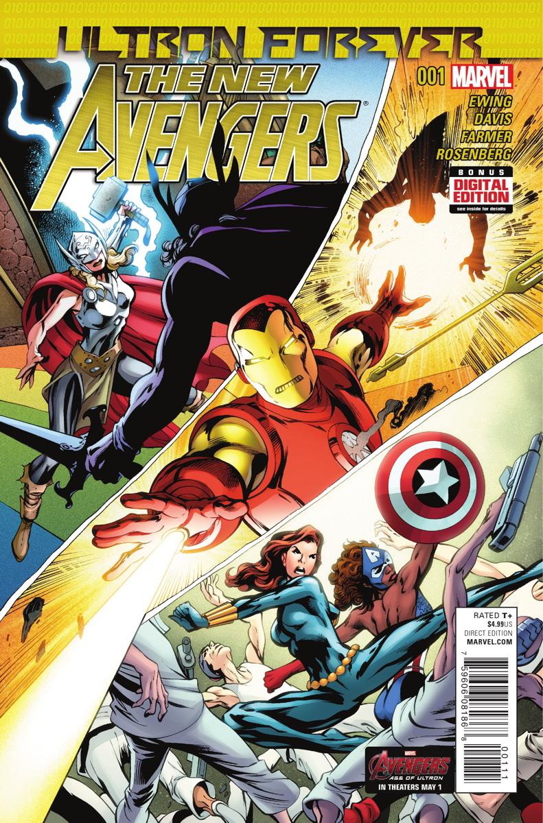 New Avengers: Ultron Forever Vol 1 1