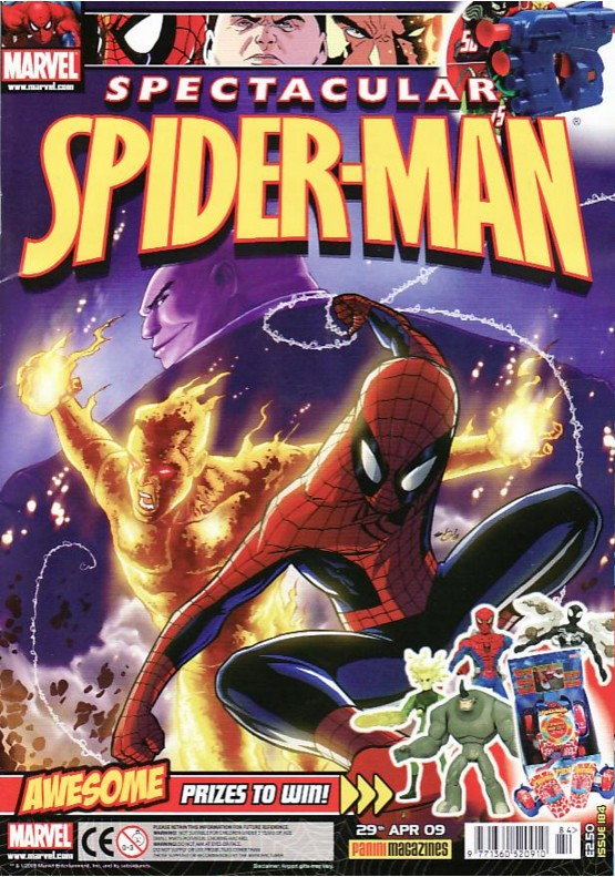 Spectacular Spider-Man (UK) Vol 1 184