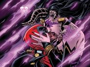 Wade Wilson (Earth-616) and Shiklah (Earth-616) from Deadpool The Gauntlet Infinite Comic Vol 1 6 001