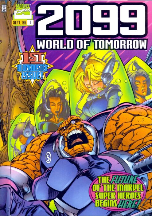 2099: World of Tomorrow Vol 1 1