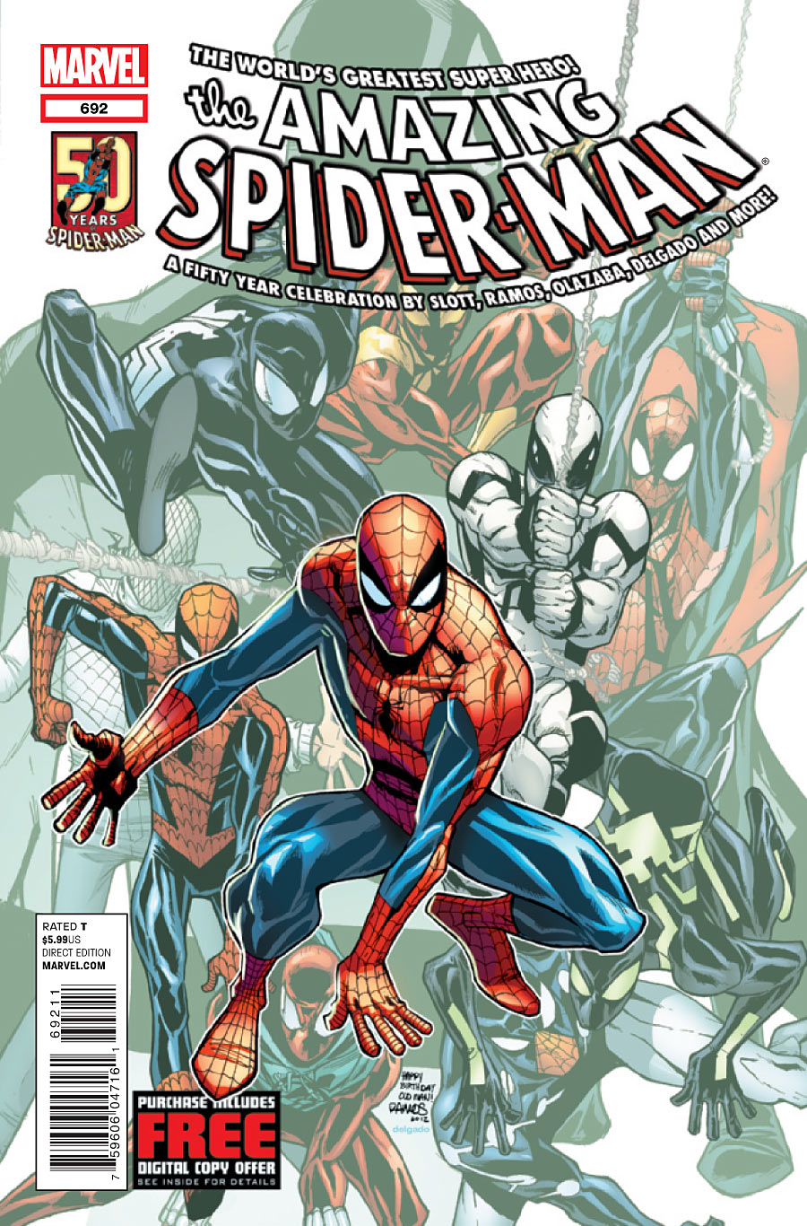 Amazing Spider-Man Vol 1 692