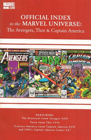 Avengers, Thor & Captain America Official Index to the Marvel Universe Vol 1 7.jpg