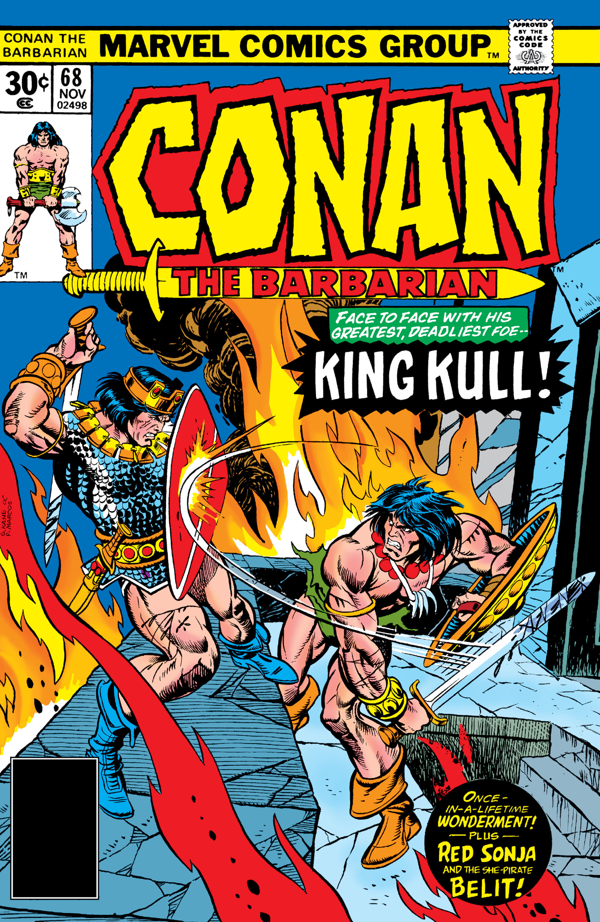 Conan the Barbarian Vol 1 68