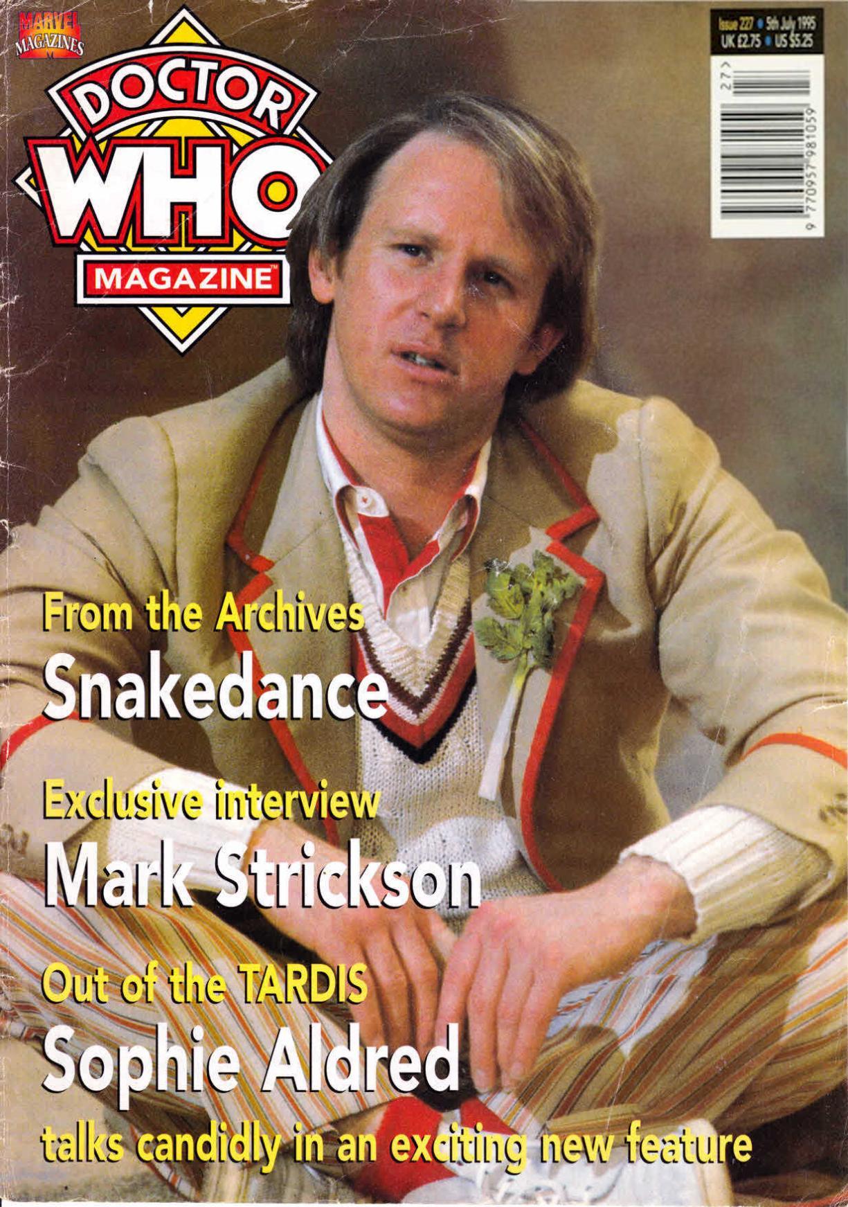 Doctor Who Magazine Vol 1 227