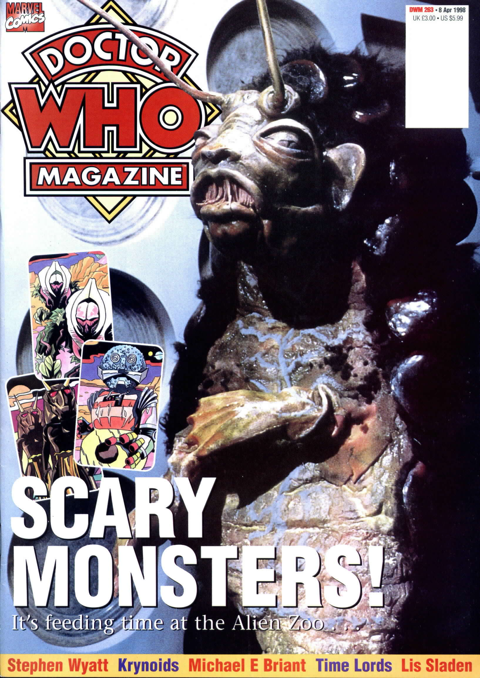 Doctor Who Magazine Vol 1 263