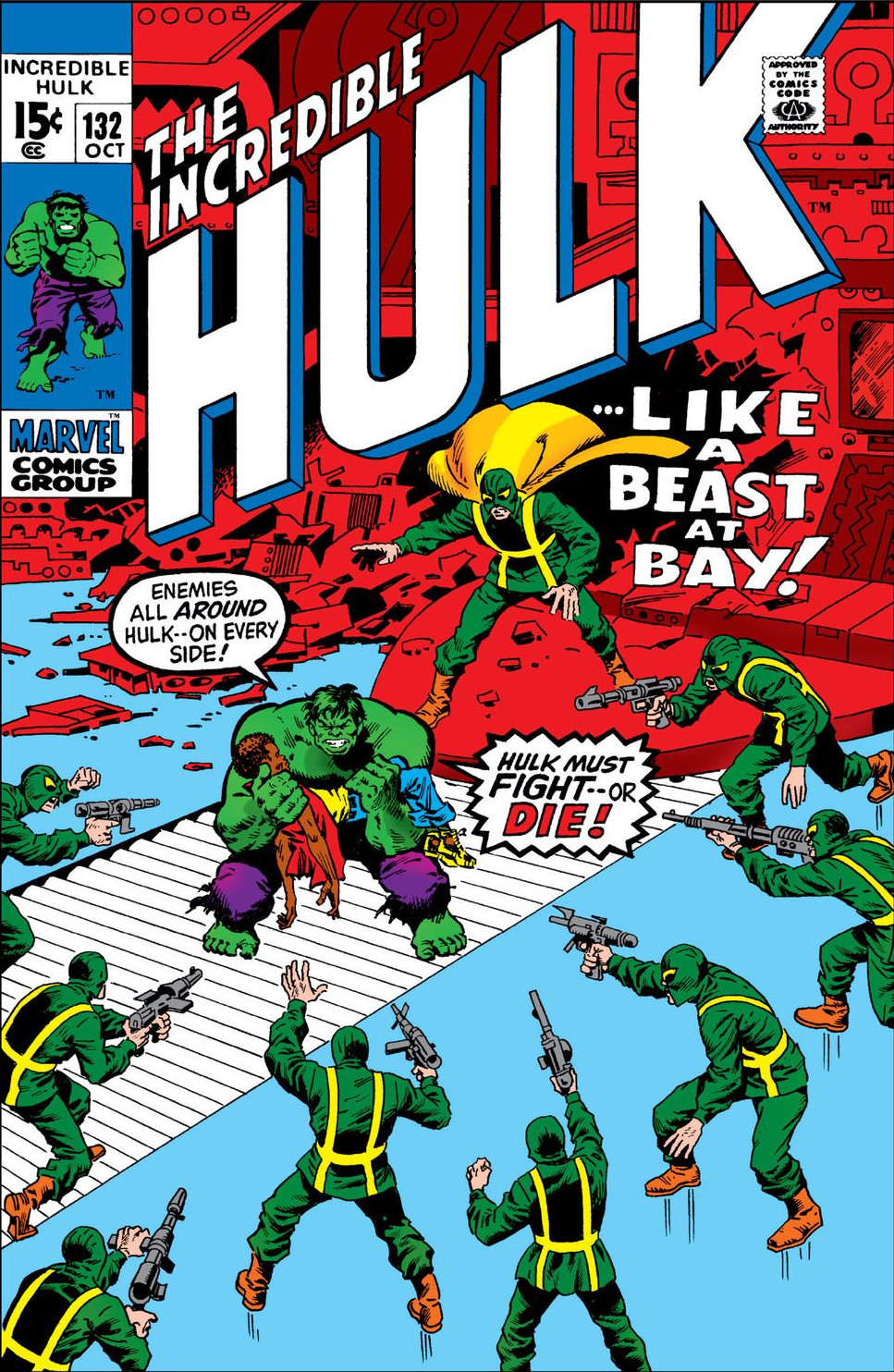 Incredible Hulk Vol 1 132