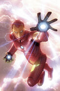 Invincible Iron Man Vol 3 2 Garner Variant Textless