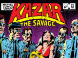 Ka-Zar the Savage Vol 1 23
