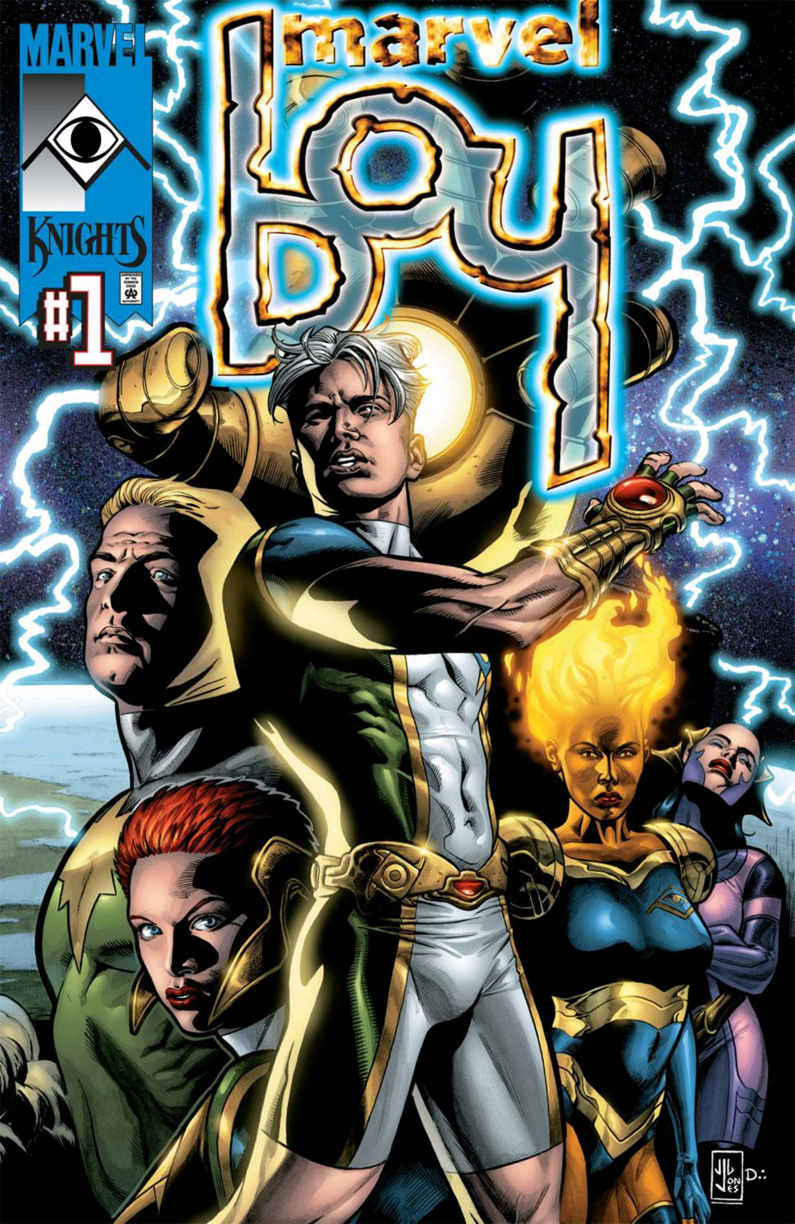 Marvel Boy Vol 2 1