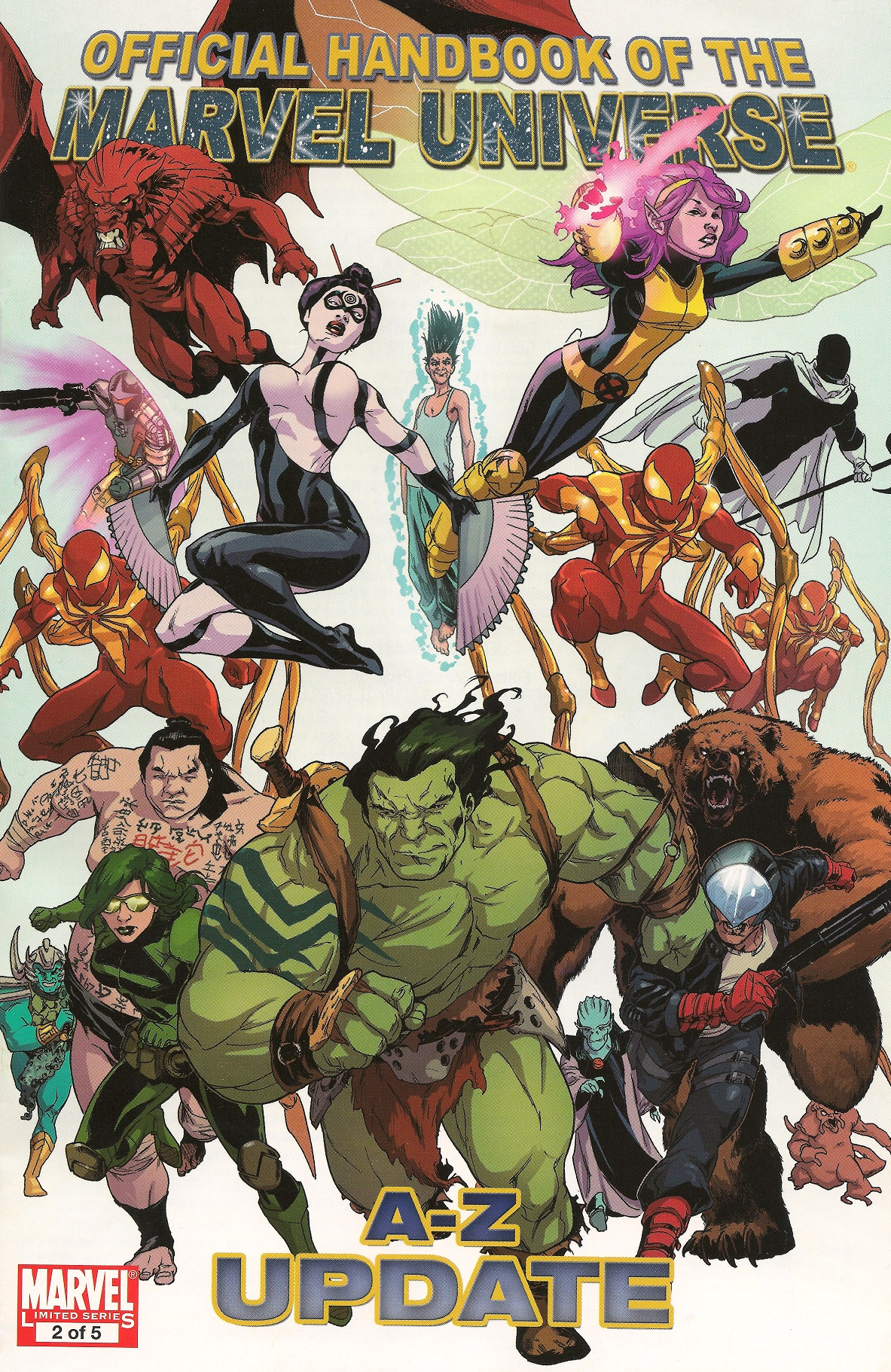 Official Handbook of the Marvel Universe A-Z Update Vol 1 2