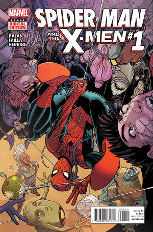 Spider-Man and the X-Men Vol 1 1.jpg