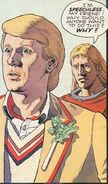 The Doctor (Earth-5556) and Justin (Earth-5556) from Doctor Who Vol 1 17 001
