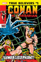 True Believers Conan - The Tower of the Elephant Vol 1 1
