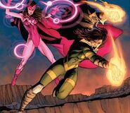 Wanda Maximoff (Earth-616) and Hope Summers (Earth-616) from Avengers vs. X-Men Vol 1 12 001