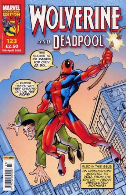 Wolverine and Deadpool Vol 1 123