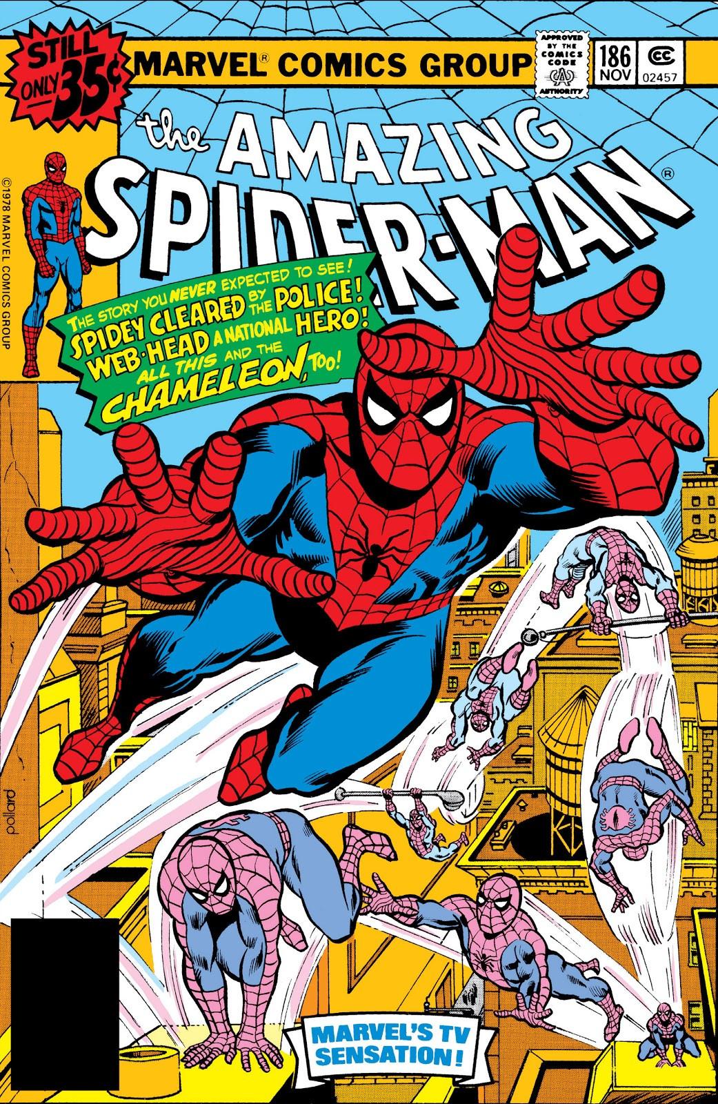 Amazing Spider-Man Vol 1 186