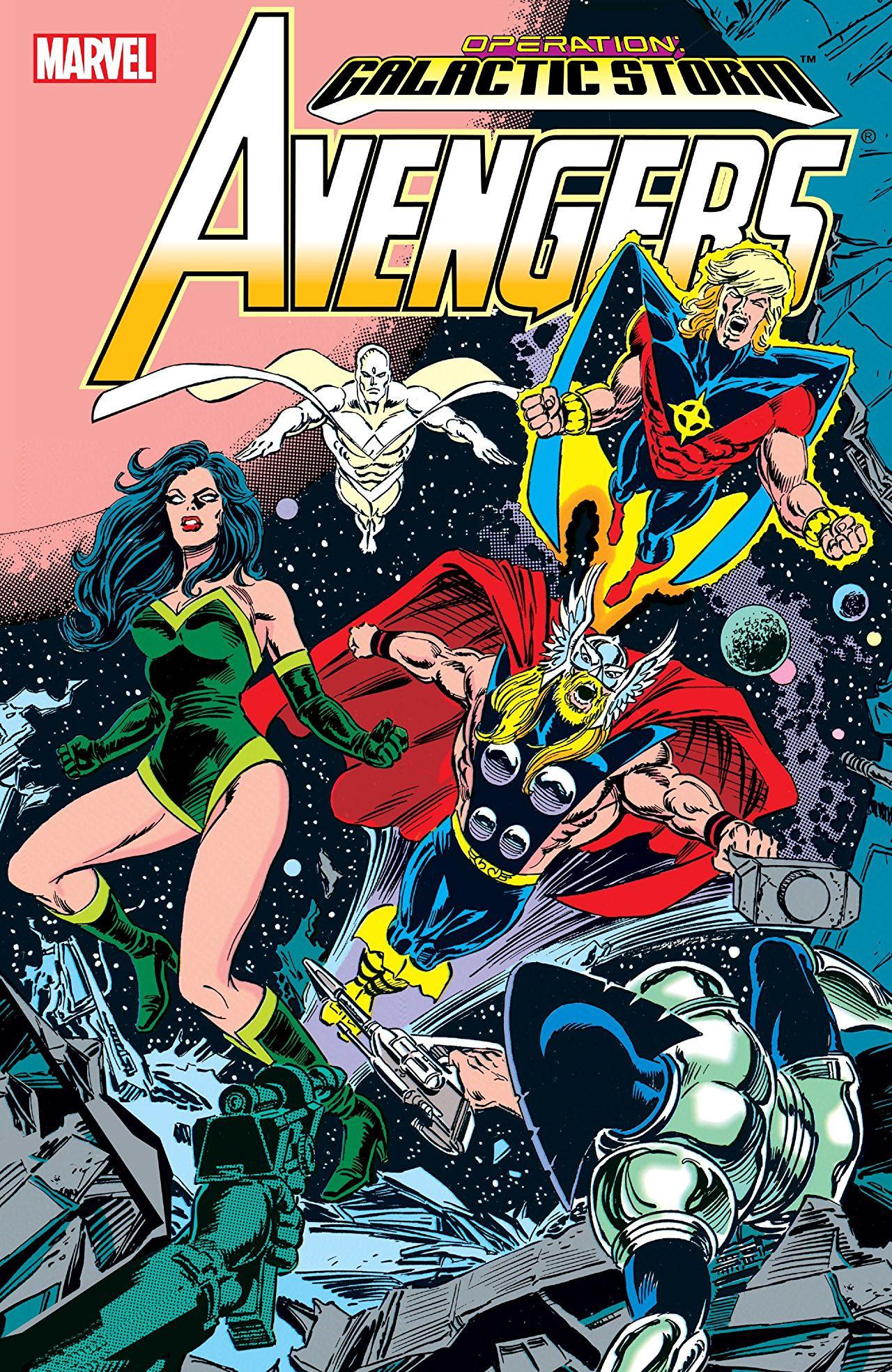 Avengers: Galactic Storm Vol 1 1