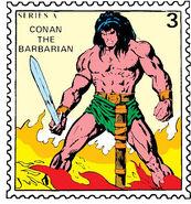 Conan Marvel Value Stamp