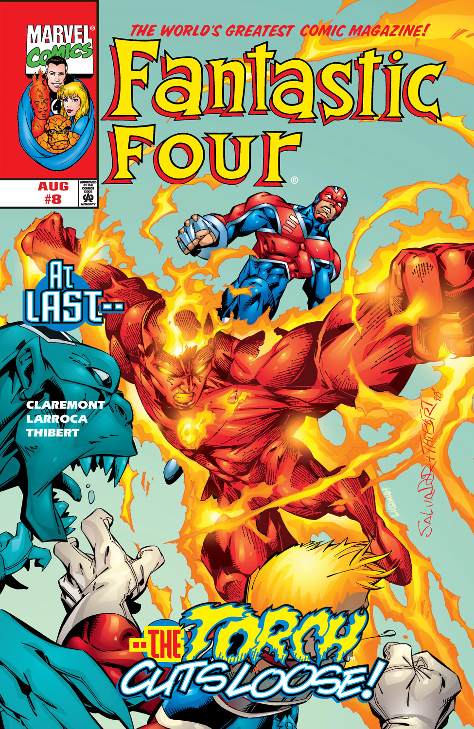 Fantastic Four Vol 3 8