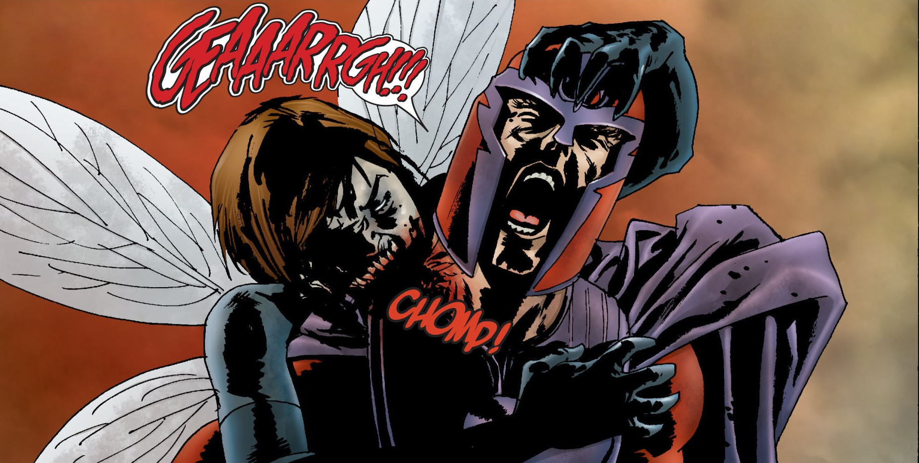 Janet Van Dyne (Earth-2149) and Max Eisenhardt (Earth-2149) from Marvel Zombies Vol 1 1 0001.jpg