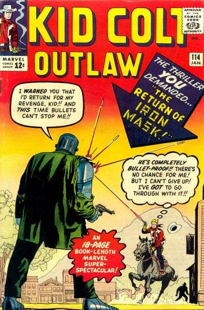 Kid Colt Outlaw Vol 1 114