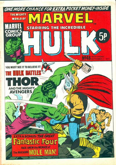 Mighty World of Marvel Vol 1 48