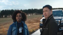 Monica Rambeau (Earth-199999) and James Woo (Earth-199999) from WandaVision Season 1 4 001.jpg
