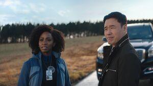 Monica Rambeau (Earth-199999) and James Woo (Earth-199999) from WandaVision Season 1 4 001.jpg