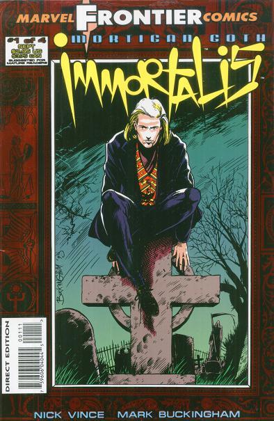 Mortigan Goth: Immortalis Vol 1 1