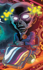 Observer-X (Warp World) (Earth-616)