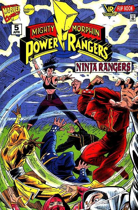 Saban's Mighty Morphin Power Rangers: Ninja Rangers Vol 1 5