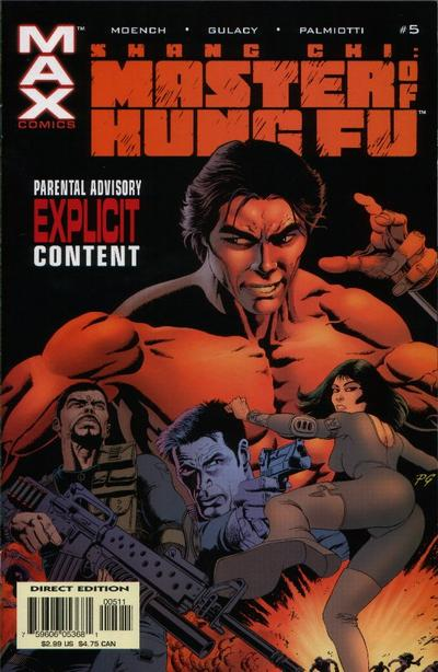 Shang-Chi: Master of Kung Fu Vol 1 5