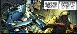 Stanley George Johnson (Earth-616) and Roberto Valasquez (Earth-616) from Civil War Front Line Vol 1 3 001.jpg