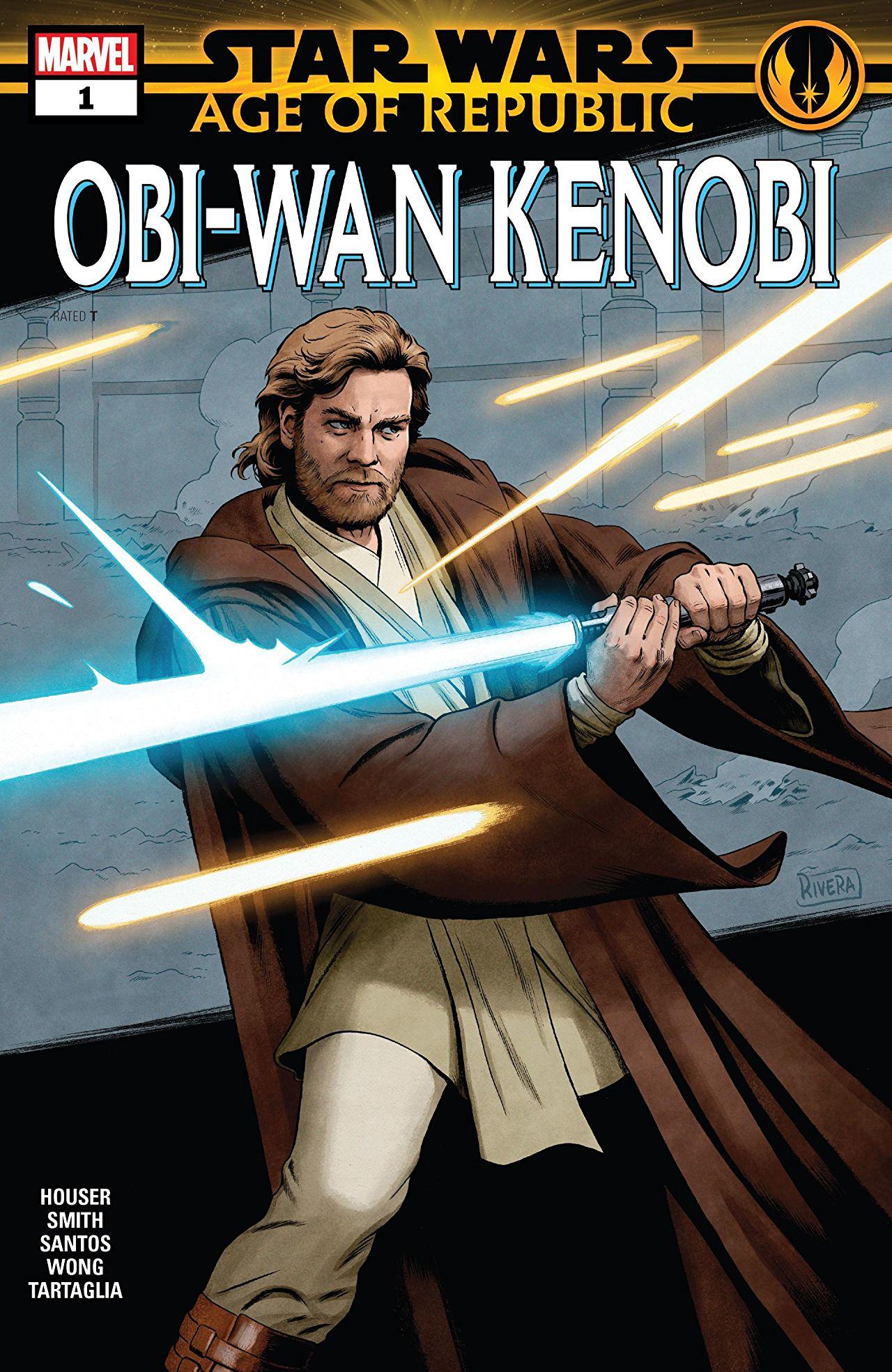 Star Wars: Age of Republic - Obi-Wan Kenobi Vol 1 1