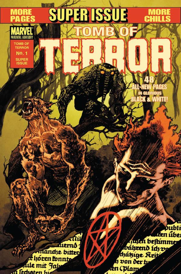 Tomb of Terror Vol 1 1