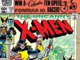 Uncanny X-Men Vol 1 153
