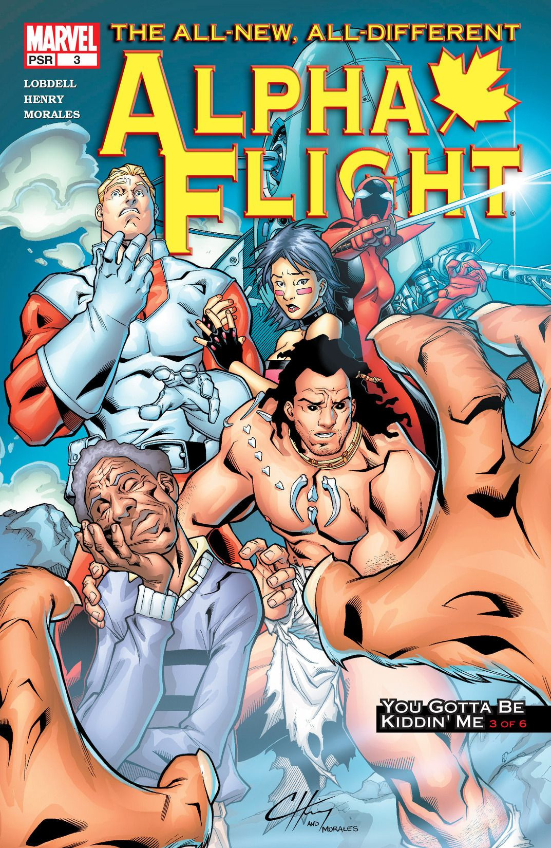 Alpha Flight Vol 3 3