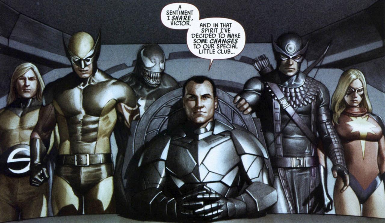 Avengers (Osborn) (Earth-6091)/Gallery