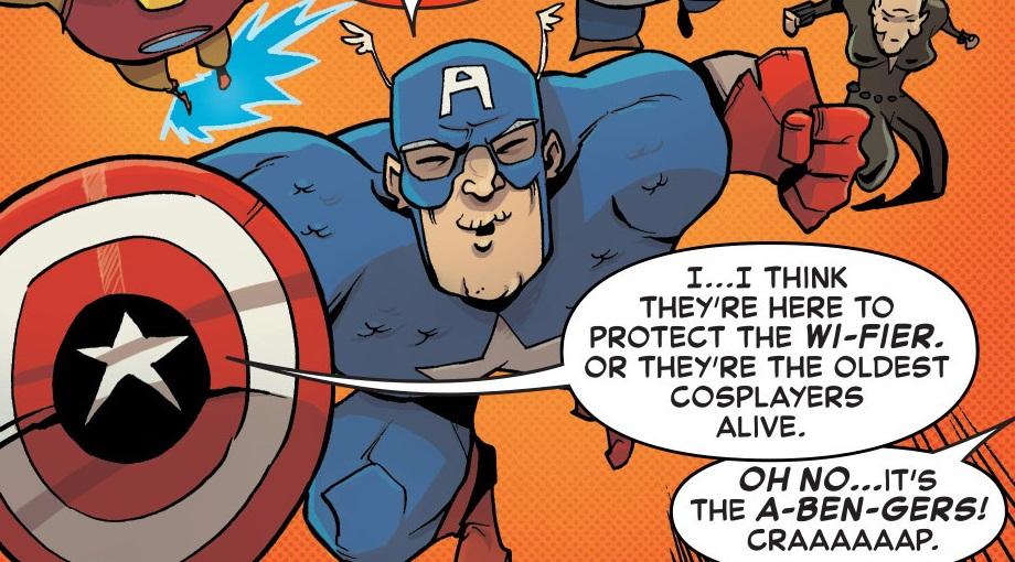 Benjamin Parker (Captain America) (Earth-615)