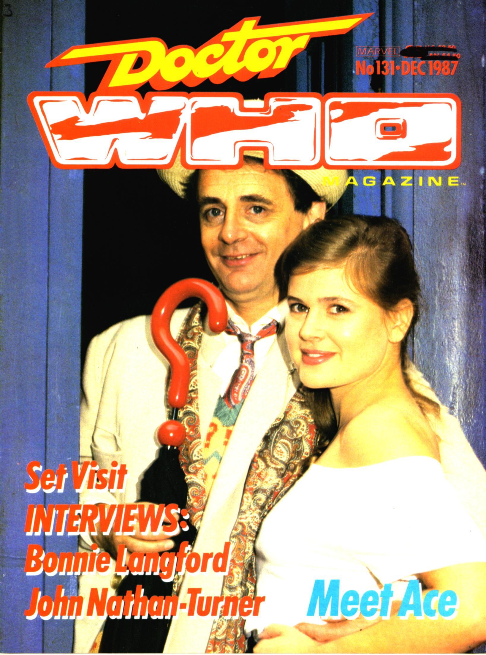 Doctor Who Magazine Vol 1 131