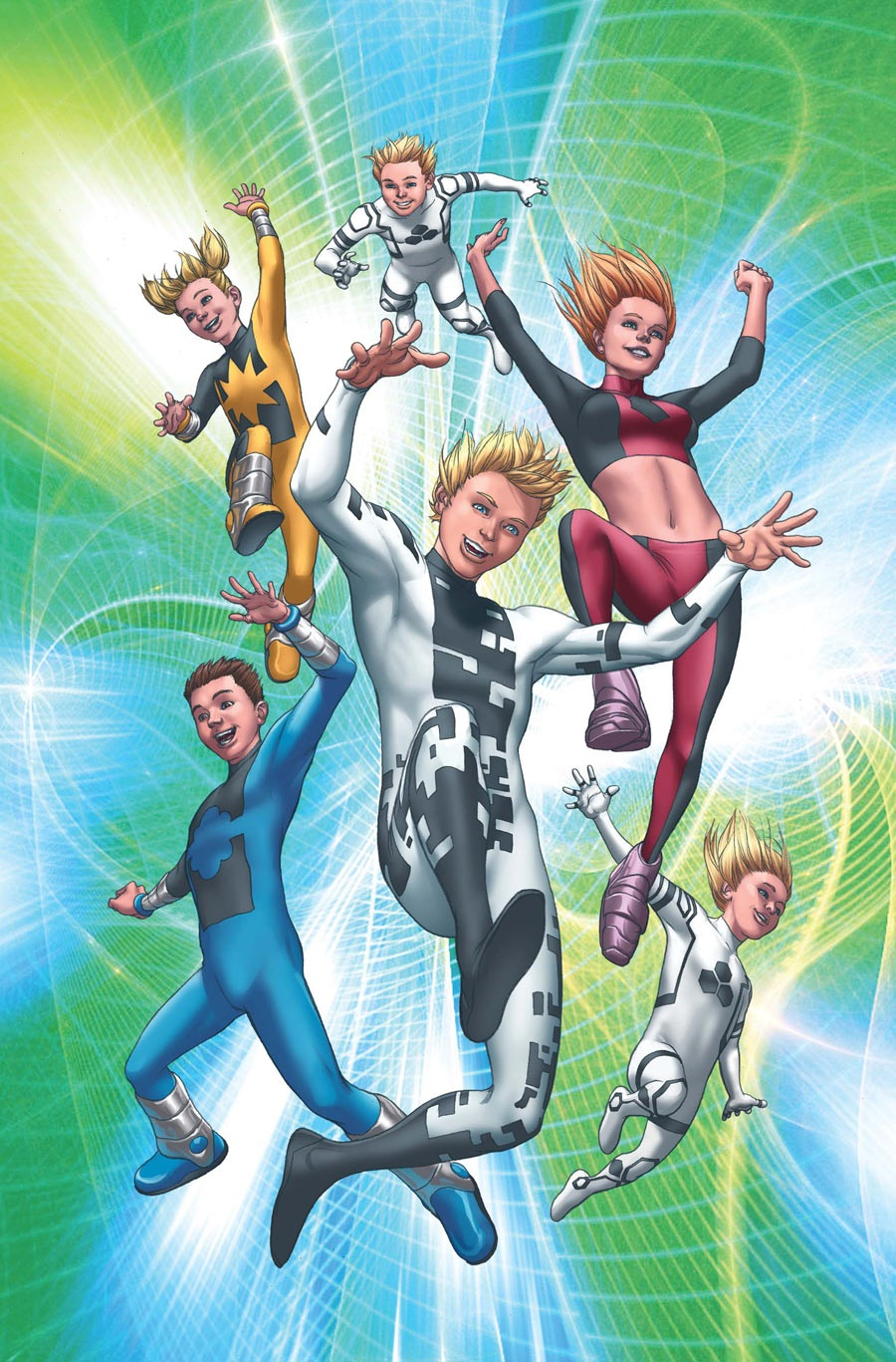 Power Pack (Earth-616)/Gallery