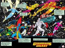 Guardians of the Galaxy (Earth-691) from Guardians of the Galaxy Annual Vol 1 1 0001.jpg