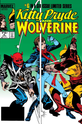 Kitty Pryde And Wolverine 6 Nm Near Mint Marvel Comics