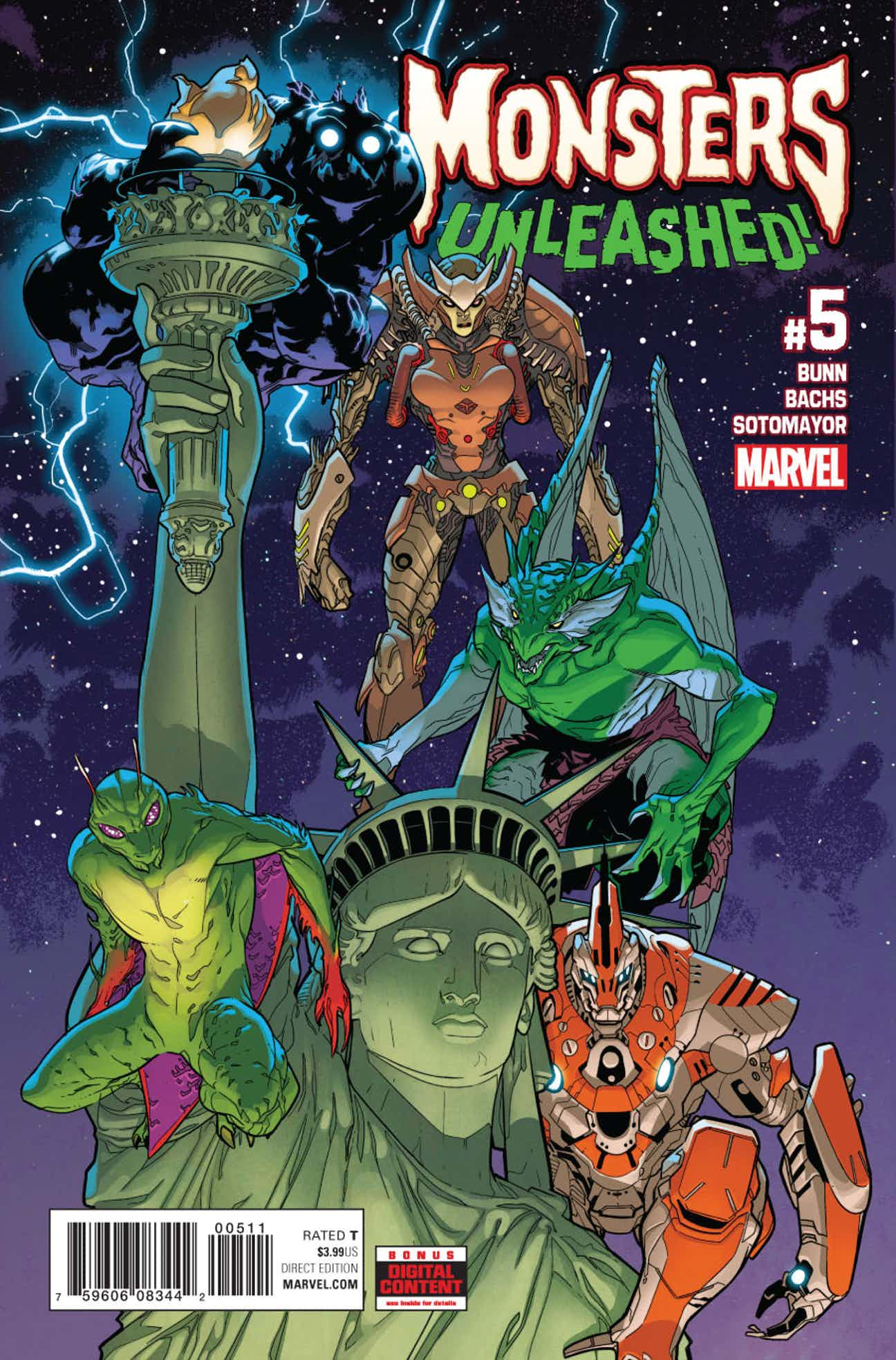 Monsters Unleashed Vol 3 5