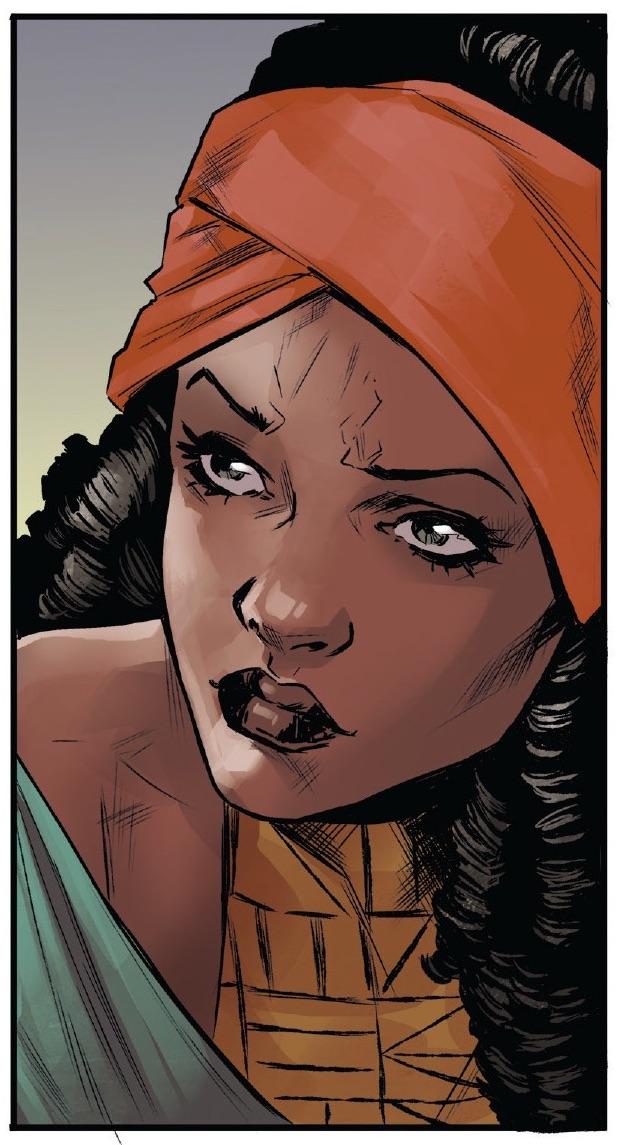 Nezhno Abidemi's Mother (Earth-616)