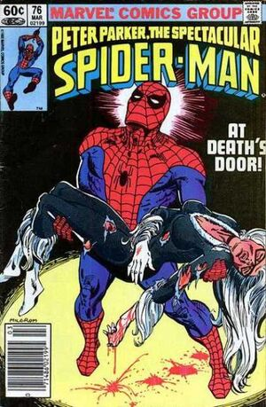 Peter Parker, The Spectacular Spider-Man Vol 1 76.jpg