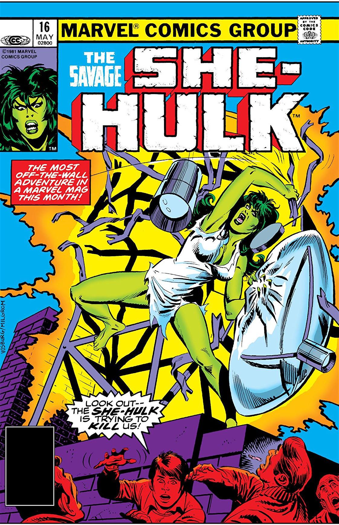 Savage She-Hulk Vol 1 16