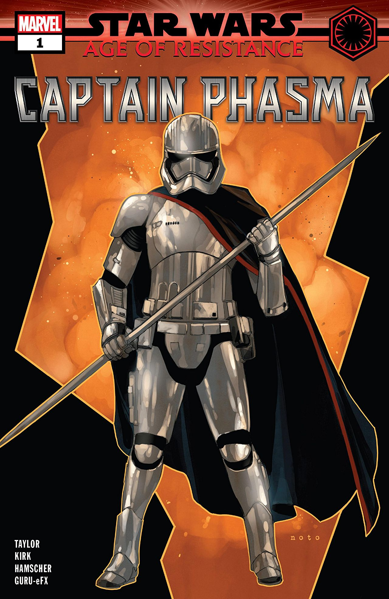 Star Wars: Age of Resistance - Captain Phasma Vol 1 1